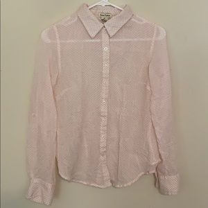 Love Notes button down shirt size S